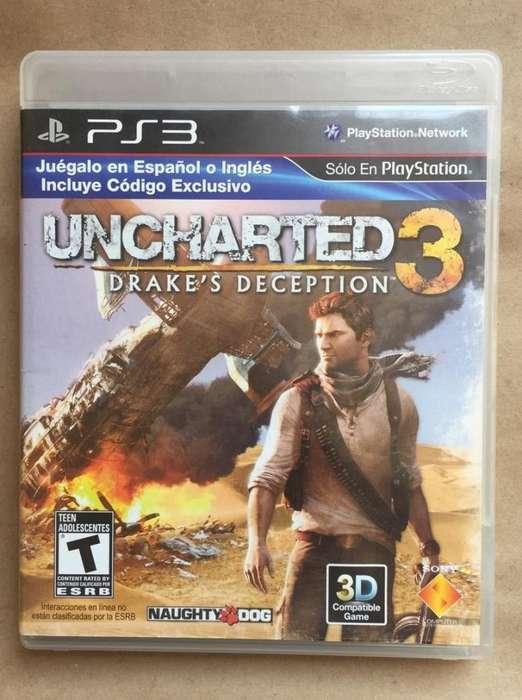 Uncharted 3 vendo o cambio