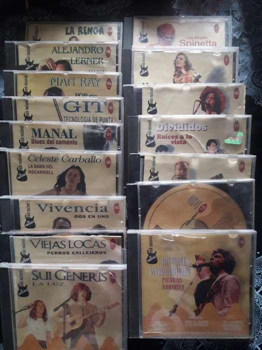 Cd de Coleccion Rock Nacional Algunos
