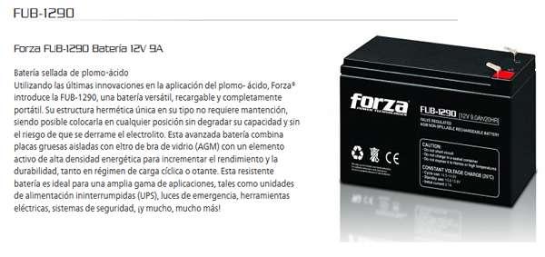 BATERIAS 12-9AH BLESSPOWER - FORZA - ENERGY POWER