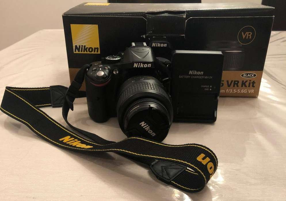 Cámara Nikon D5200 (incluye lente)