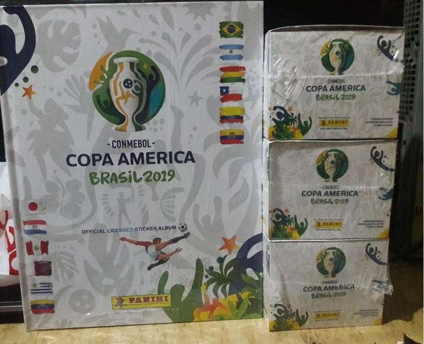 Album Panini Copa America Brasil 2019