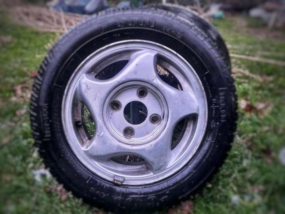 Ruedas 14(cubierta Pirelli,llanta 4 X114