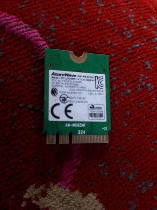 Placa wifi netbook...AzureWave aw-nb165nf rtl8723be rtl 8723 benf