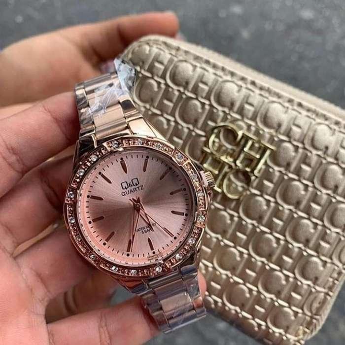 Relojes Quartz Dama Y Caballero