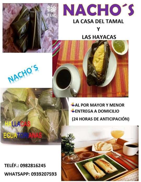 HAYACAS Y TAMALES POR ENCARGO