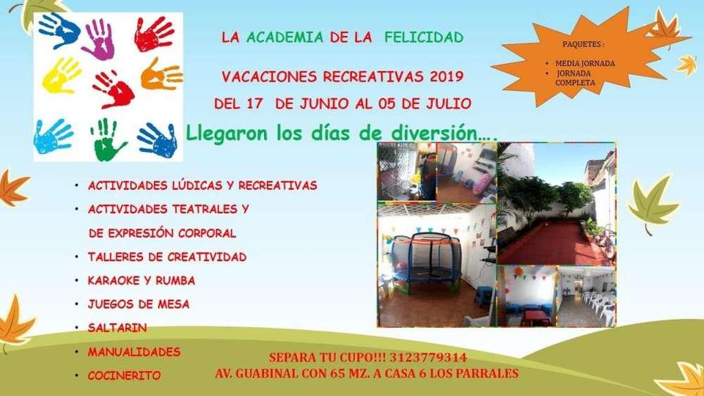 VACACIONES RECREATIVAS IBAGUE 2019