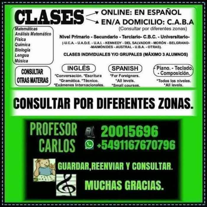 Clase Part :prim-sec-c.b.c-universitario