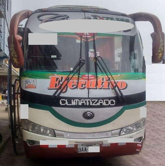 Bus Interprovincial Yutong 2012 Zk6