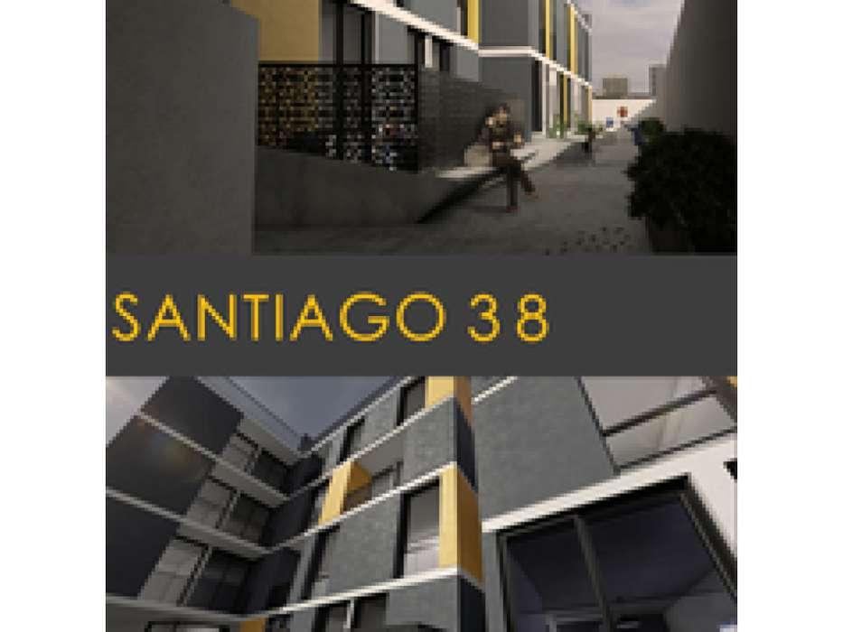 2 Dormitorios con terraza exclusiva 102m2 ! Santiago 38- Financiado!