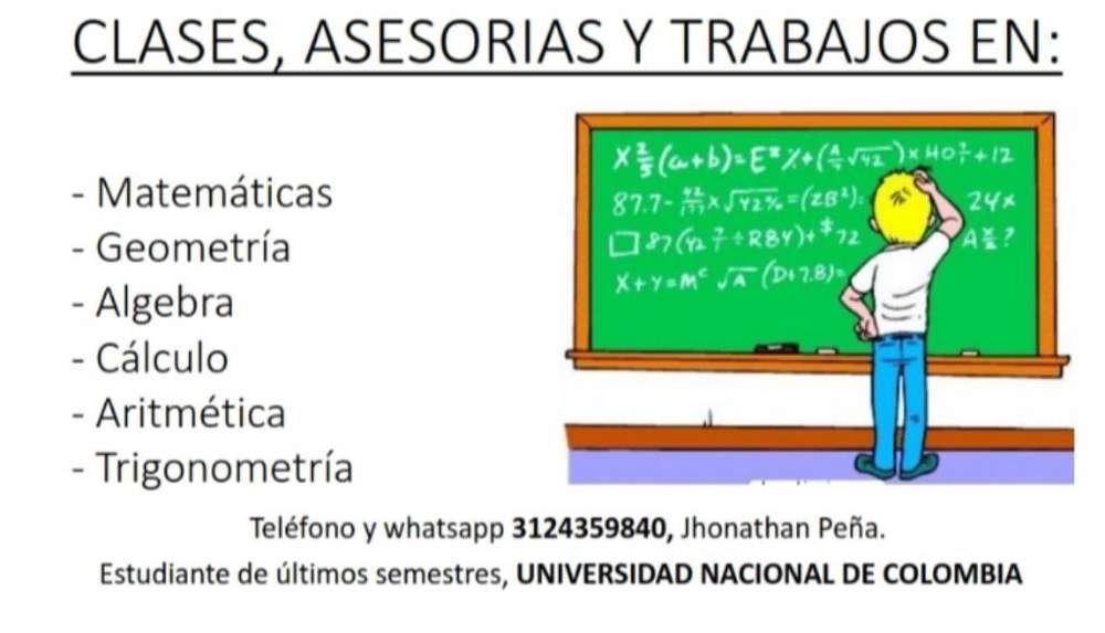 Asesorías Y Trabajos Matemáticas