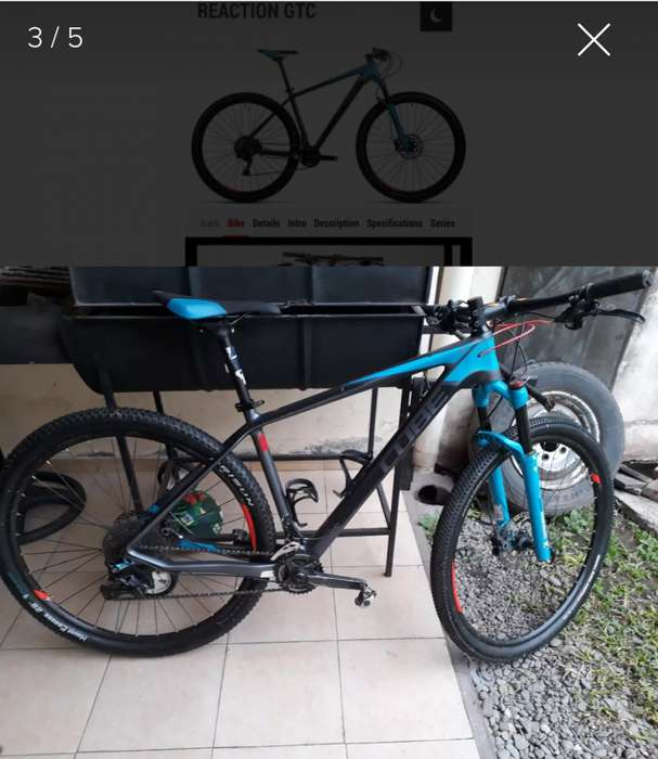 Mtb Cube Reaction 29 carbono L