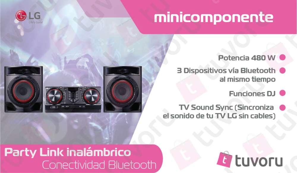 LG XBOOM CJ44 minicomponente