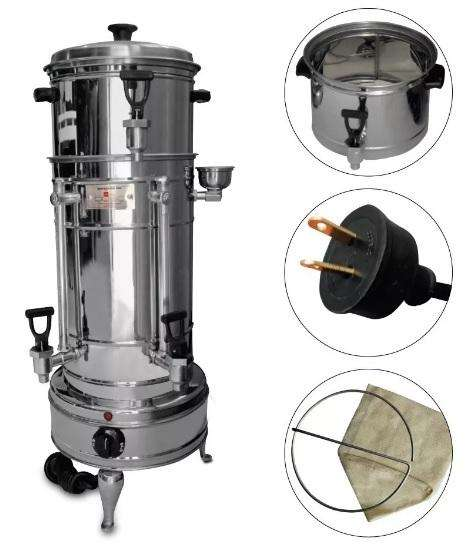 Greca Cafetera Capacidad Para 120 Tintos Eléctrica