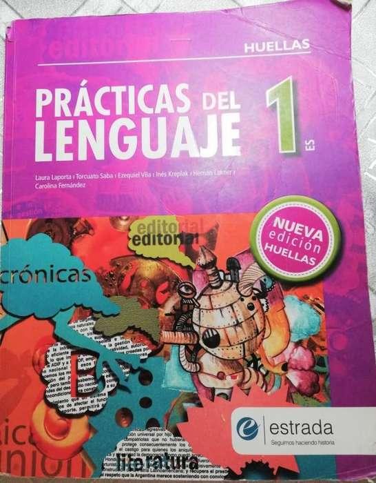 Libro Practicas del lenguaje 1 Nueva Edición Huellas usado Rosario