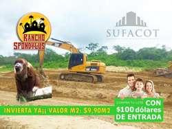 INVIERTE AHORA MISMO VALOR: M2 $9,90, TERRENOS CAMPESTRES CON SOLO 100 USD DE ENTRADA EN MANABI|S1