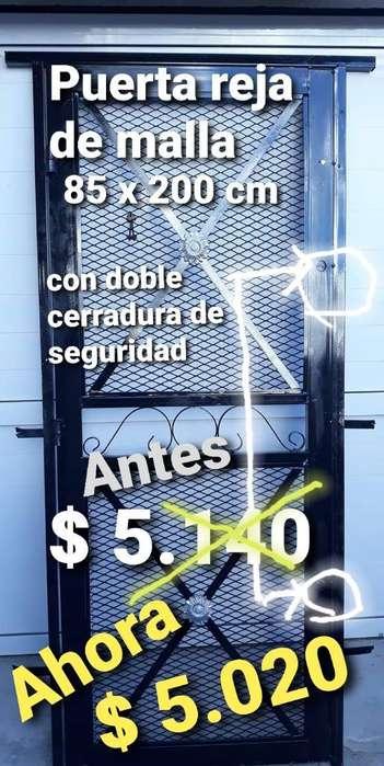 Puerta Reja Maya 85 X 200 Cm