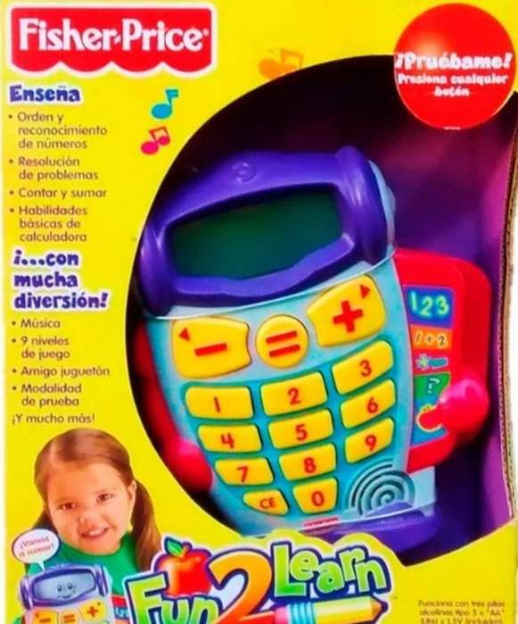 Fisher Price Aprende Los Numeros