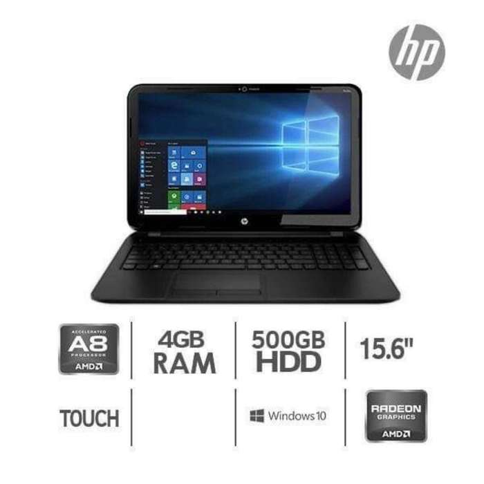 Laptop Hp Touch 15' de Oferta