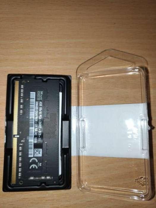 Se vende memoria ram ddr4 PC4 de 4gb para laptop notebook/ultrabook