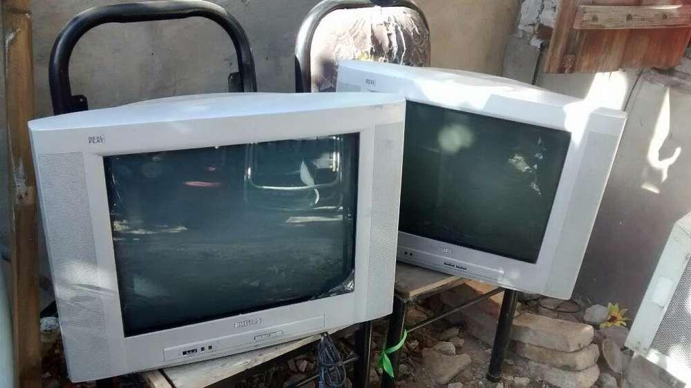 Tv 21 Funciona sin Contro Cada Una 600