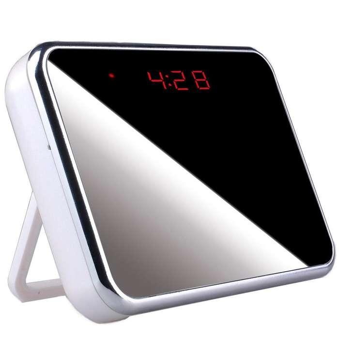 V7 Camara Reloj Despertador Alarma Espia S.Movimiento C.Remoto Hd