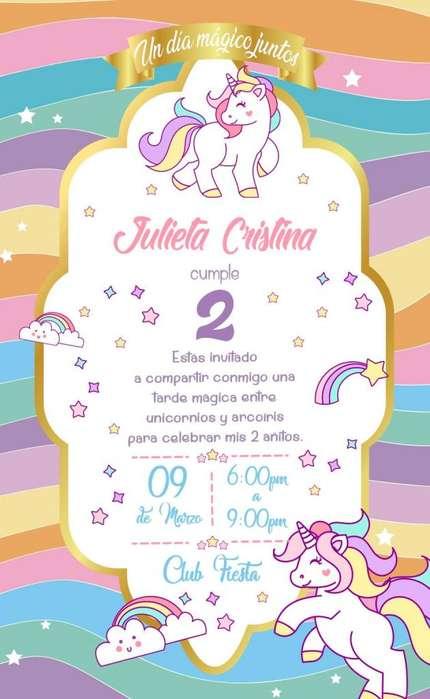 Tarjetas de Invitación Digitales Personalizadas
