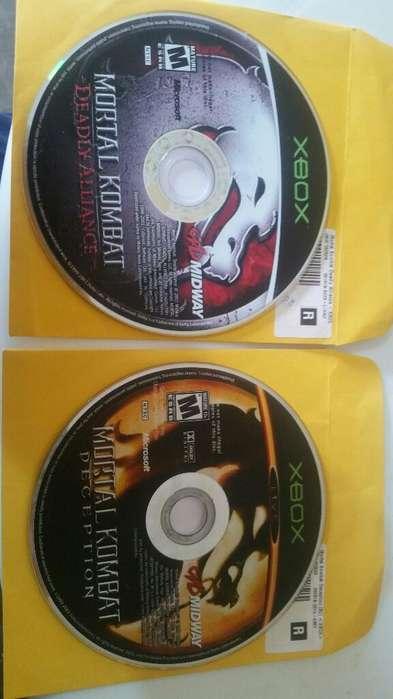 Mortal Kombat Xbox Clasico Originales
