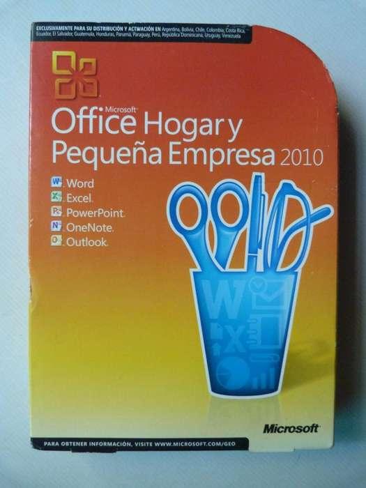 DVD Office Hogar y Pequeña Empresa 2010 Esp Licencia Original 3 <strong>pc</strong>