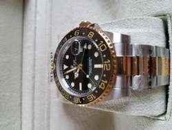 Reloj Rolex Gmt Master II Combinado 40 mm AUTOMÁTICO SUMERGIBLE