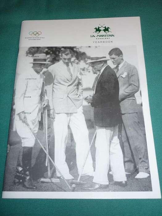 MUY BUENA REVISTA INSTITUCIONAL LA MARTINA YEARBOOK 2001/02 HISTORIA DEL POLO . MUNDIAL DE POLO 2001