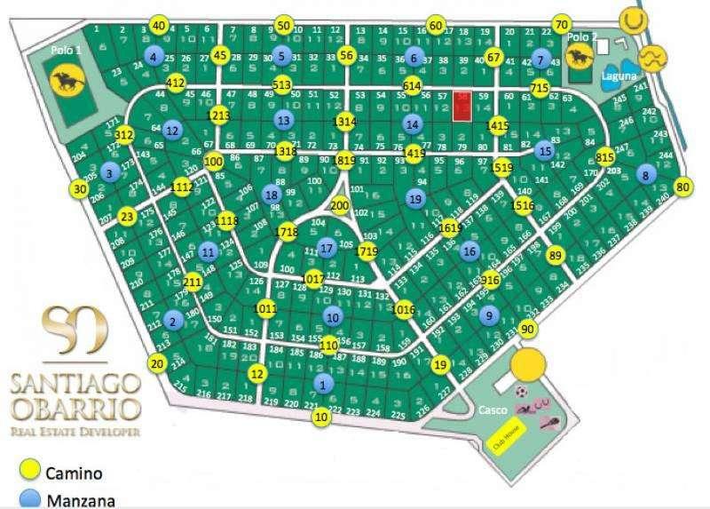 Chacra de 10.000 m2 en Estancia Las Lilas de Lujan