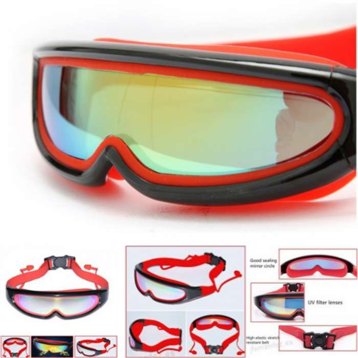 Gafas De Natación Cristal Anti Niebla Para Adultos Niños
