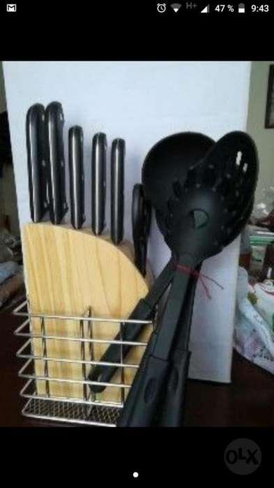 Cuchillos Base Y Tijeras