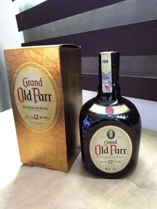 Whisky Old Parr 1 Litro