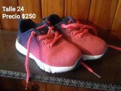 Zapatillas Usadas Talle 24 Poco Uso