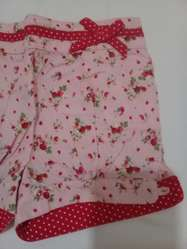 Short Little Akiabara Rosa con Flores T2