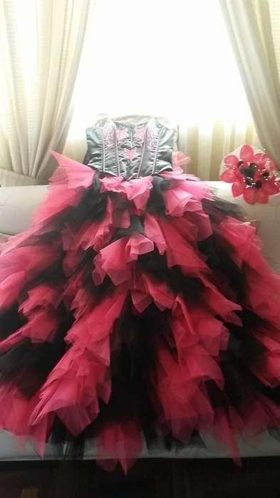 vestido de quinceañero seminuevo en oferta