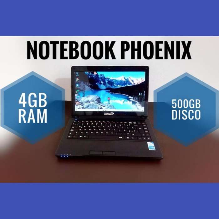 NOTEBOOK 4GB RAM 500GB DD OFFICE 2019
