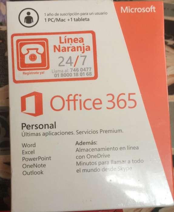 Office 365 Suscripcion por 1 Año