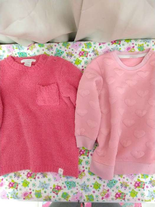 Duo Buzos Talle 12-18 Meses H&m Y Cheeky