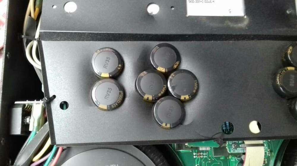 Amplificador Qsc 50/50 Total Original