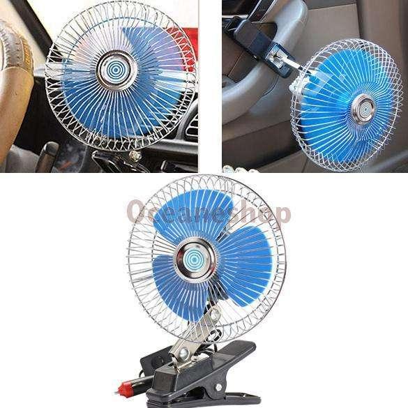 ventilador aire de lujo para automoviles carro 12v portatil