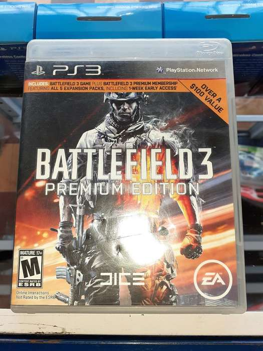 Battlefield 3 para Consola Ps3 Full