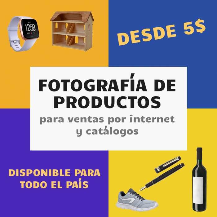 Fotografía De Productos, Ideal Para Ventas Por Internet, Cobertura Nacional