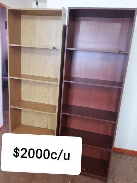 Vendo Bibliotecas 2000 C/u