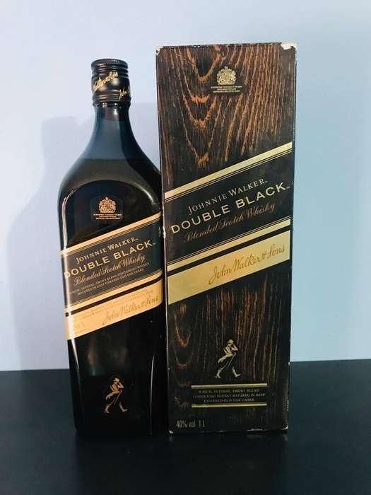 Jhonny walker double black 1 Litro