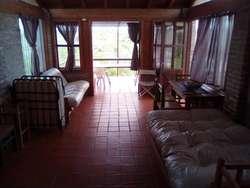 Cabaña C Pileta en Villa Parque Siquiman