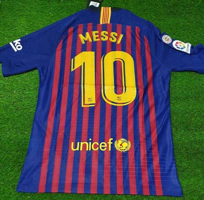 Camiseta Del Barsa 10 Messi