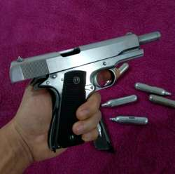 Pistola Co2 Toda Metal