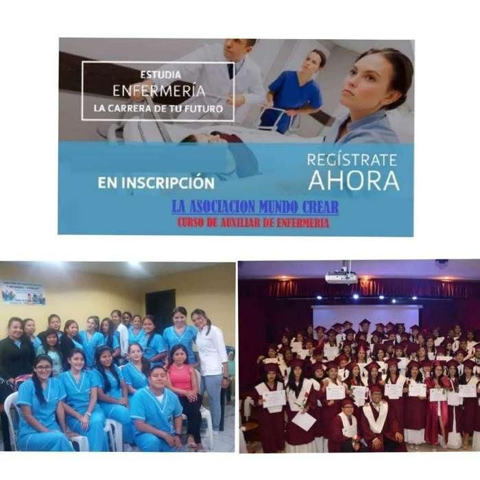 Cursos Cuidados para A. de Enfermería CON AUSPICIOS UNIVERSITARIOS